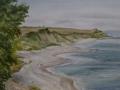 Steilküste bei Stohl